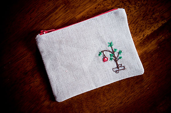 Gifts Tiny Charlie Brown Christmas Tree Coin Purse