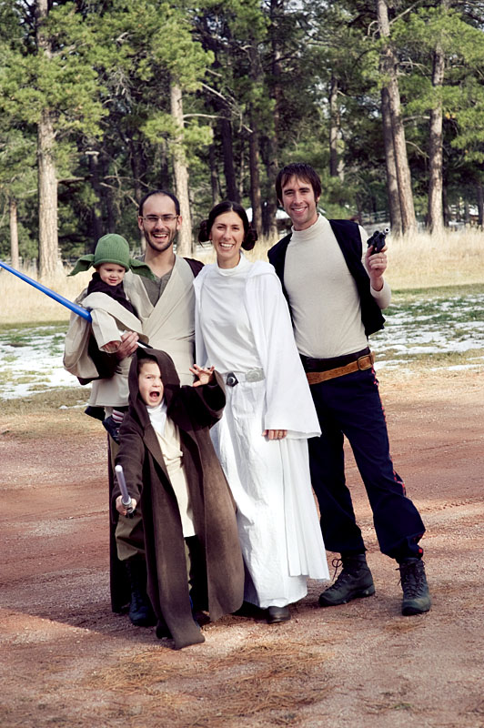 homemade star wars jedi costumes  sc 1 st  Needles and a Pen » Knitting Sewing and Nursing School & homemade star wars jedi costumes » Needles and a Pen