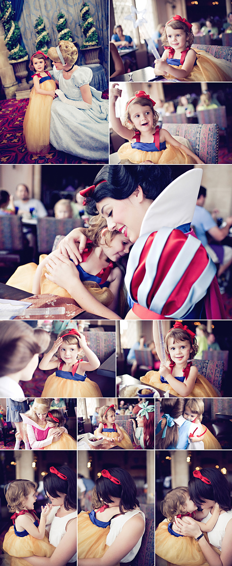 snow white homemade dress