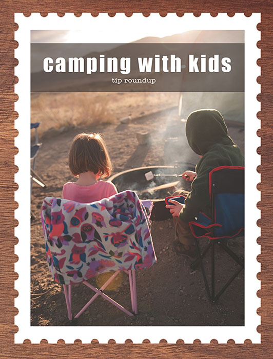 tips and recipes for family camping with kids
