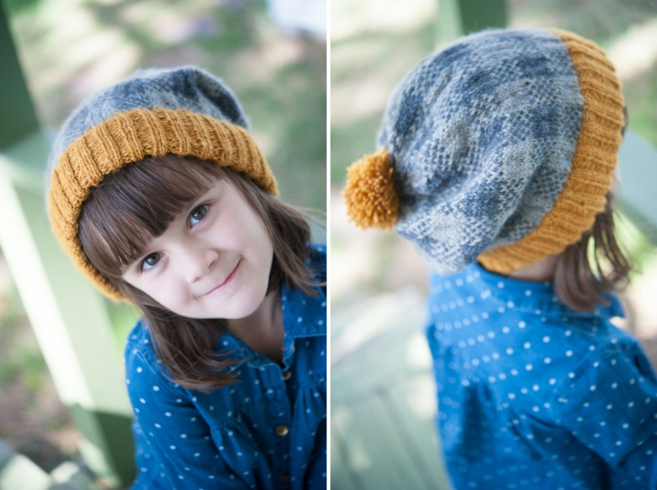 bismark plaid knit hat