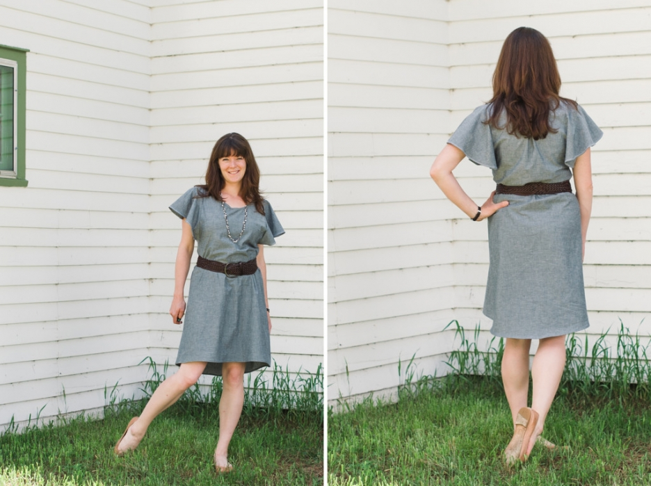 the date night dress pattern review