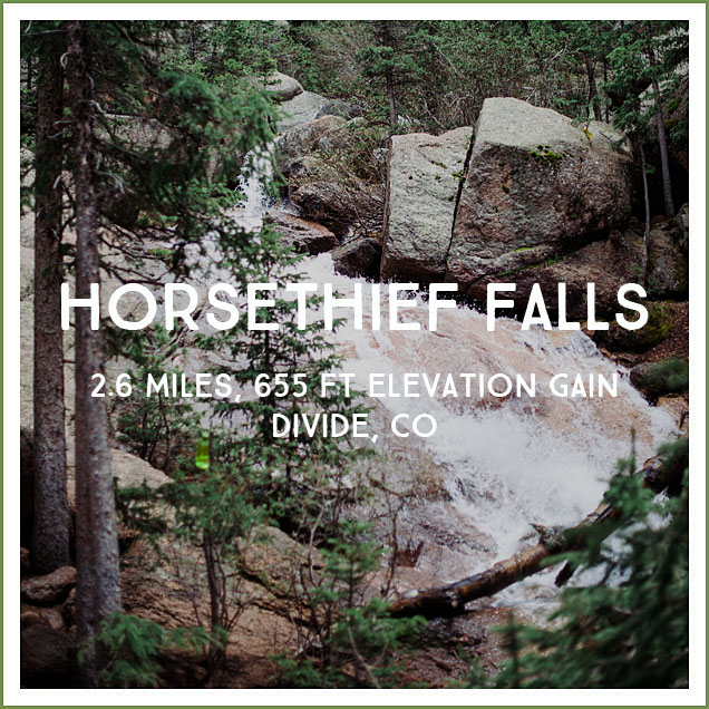 horse thief falls trail review