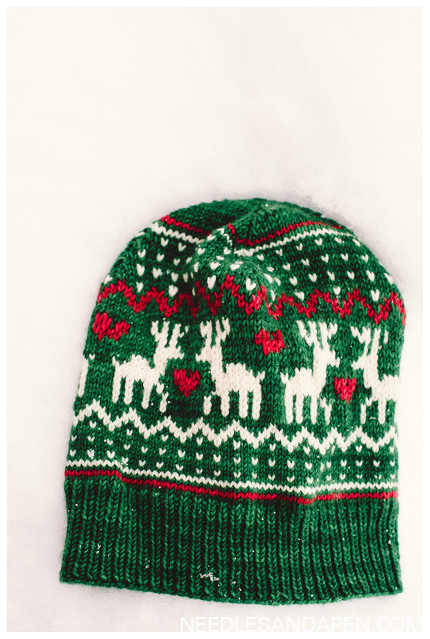 Donder and Blitzen from Amy Miller | Christmas hat » Needles and a Pen