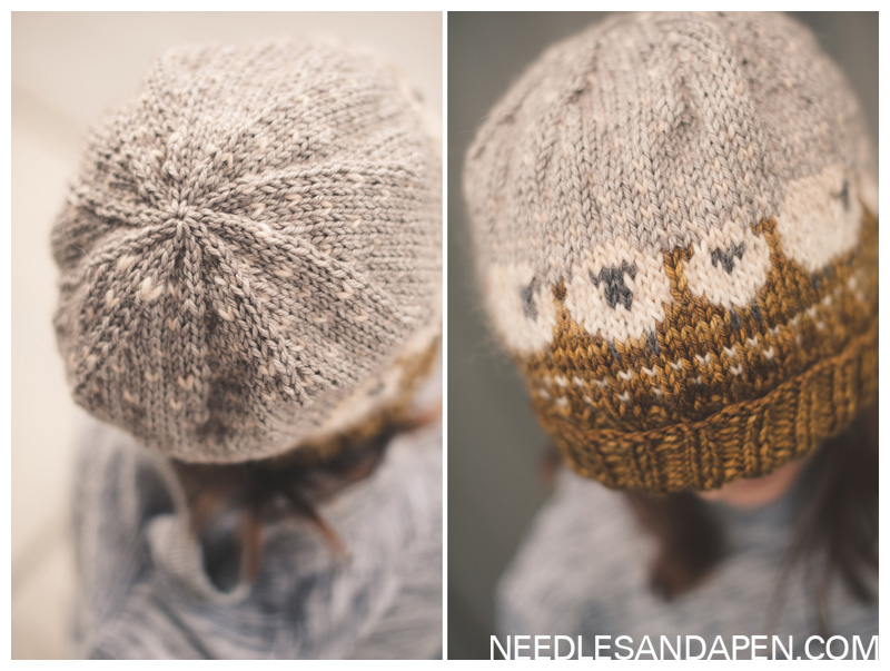 Baa-ble Hat Knitting Pattern Review » Needles and a Pen